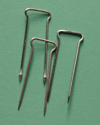 double pointed brass pins